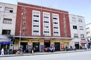 The Cinema Impero in Asmara
