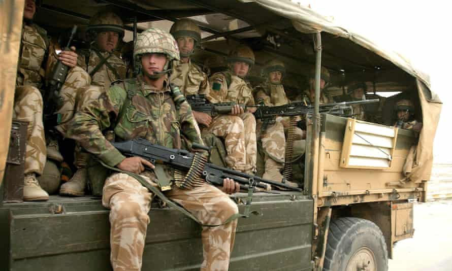 British soldiers in Iraq. To retain a nuclear weapons capability, ministers may have to make more cuts in troop numbers.