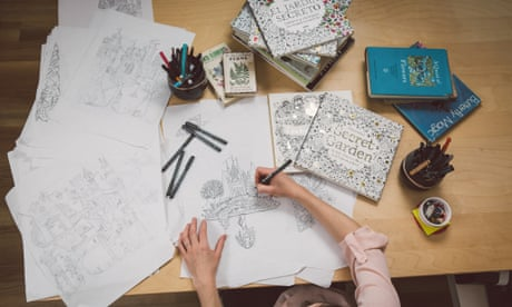 Im A Grown Up But I Still Love Colouring Books Read More The Illustrator Who Lives In Aberdeenshire Has Been