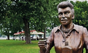 Statue of Lucille Ball in New York state