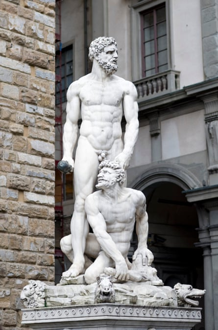 Bandinelli's Hercules and Cacus
