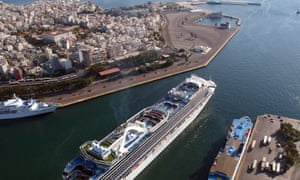 Russia has expressed an interest in the port of Piraeus, near Athens.