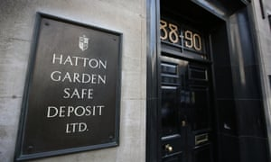 Hatton Garden Safe Deposit, which was reportedly burgled during the Easter weekend