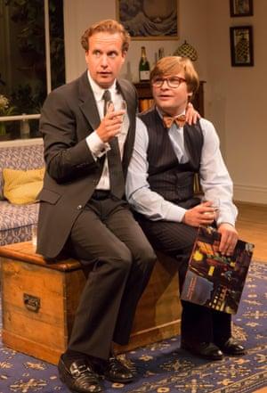 Geoffrey Streatfeild as Daniel and Jonathan Broadbent as Guy in My Night With Reg.
