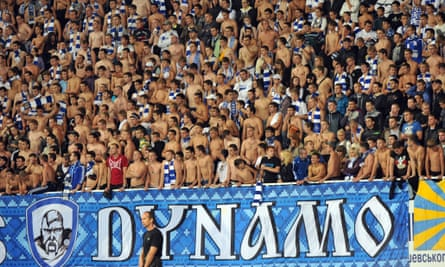 Dynamo Kyiv fans, hopefully not remaining topless until they prevail in Europe's premier club competition.