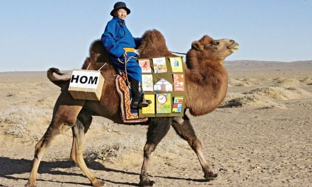 The Mongolian Children's Mobile Library