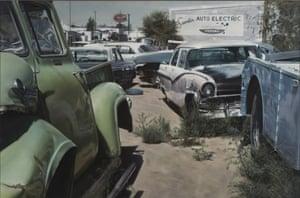 Albuquerque Wreck Yard (Sandia Auto Electric), 1972