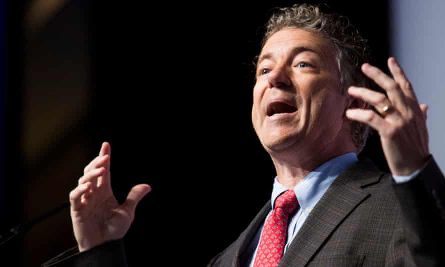 You'll be seeing a lot more of Rand Paul in the next year.