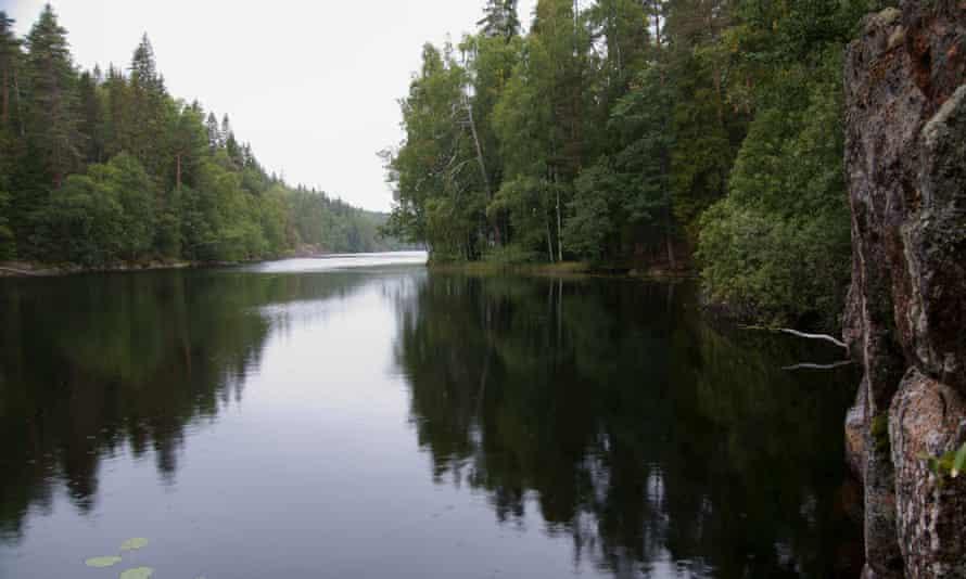 Helvetinjärvi national park, Finland