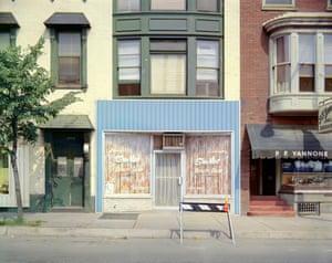 Uncommon Places series, Sha-Mar, Chestnut Street, Harrisburg, PA, 1973