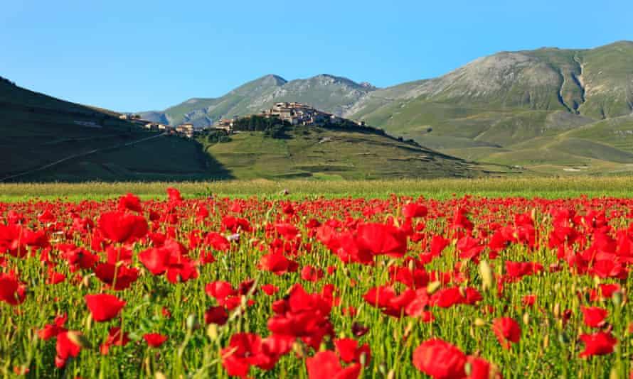 Monti Sibillini National Park, Italy.