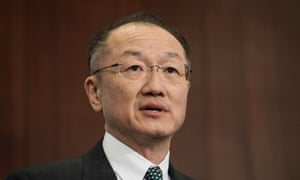 Jim Yong Kim, the World Bank president. He suggested the bank and the AIIB could co-finance infrastructure projects or work on regional integration.