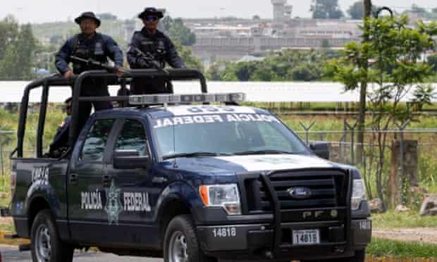 Monday's ambush produced the biggest death police toll since 2010, when 12 federal officers were killed in the neighbouring state of Michoacán.