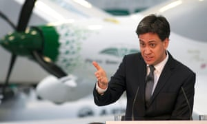 Ed Miliband at the National Composites Centre