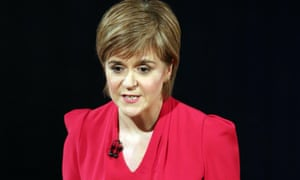 Nicola Sturgeon Scotland TV leaders' debates