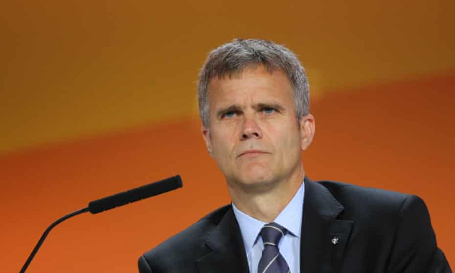 Helge Lund took over as chief executive of BG Group in February after it wrote down the value of its assets by £6bn.