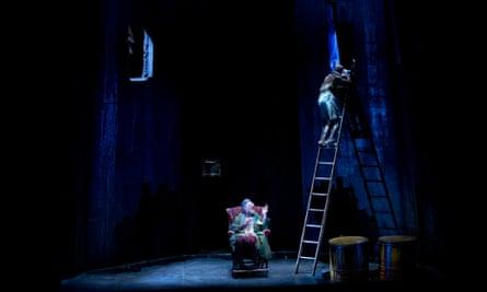 Hugo Weaving and Tom Budge in Sydney Theatre Company's Endgame ©Lisa Tomasetti