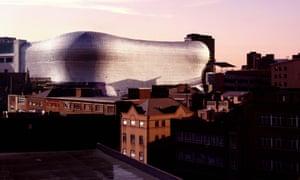 The Selfridges building in Birmingham, UK