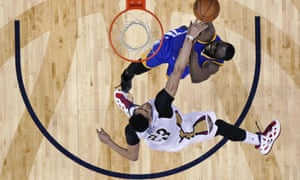 Anthony Davis and the New Orleans Pelicans' win over the Golden State Warriors last night increased the odds that the two teams would meet again in the first round of the NBA playoffs.