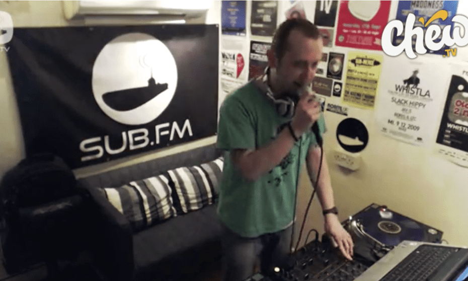Chew wants to be a showcase for DJs of all sizes.