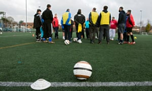 'We have already come a long way,' says Les Howie, who has been the FA's associate director of grassroots coaching for nine years.
