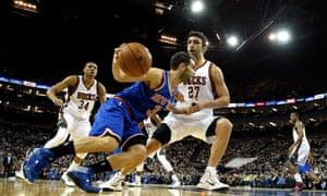 jose calderon and zaza pachulia NBA