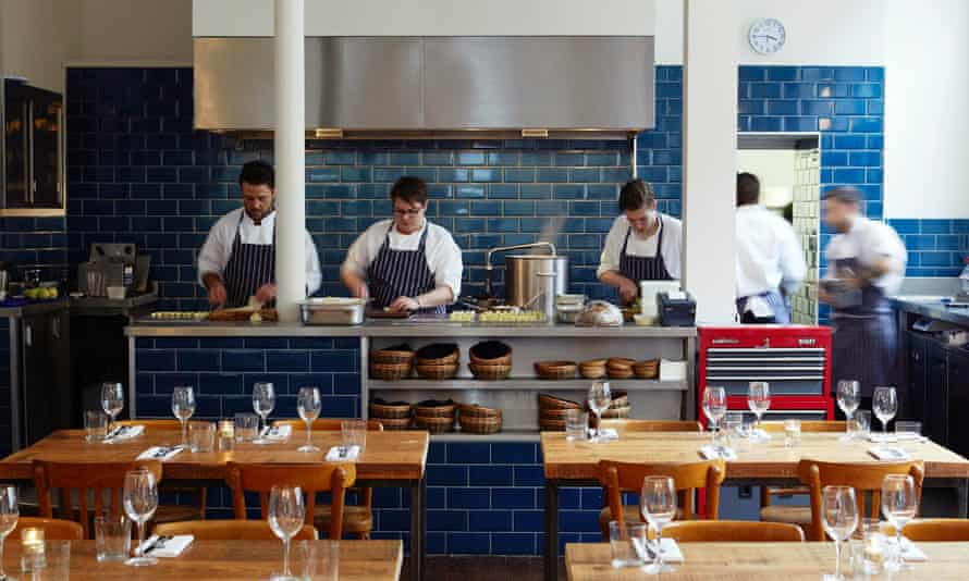 Chefs at the Clove Club.