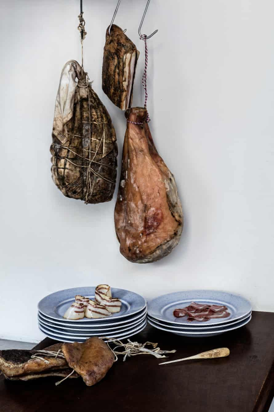 Home-cured meat at the Clove Club