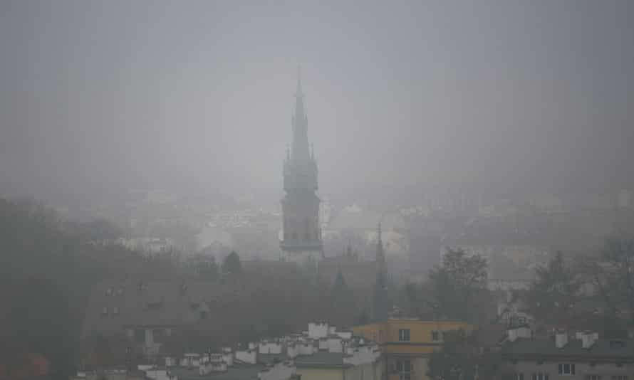 A general view of the fog