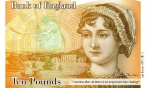The new £10 banknote will appear from 2017.