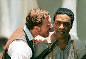 Chiwetel Ejiofor in Oscar-nominated form in 12 Years A Slave. His performance in Steve McQueen's 2014 hit really made Hollywood sit up and take notice.