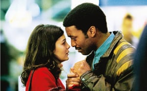 Chiwetel Ejiofor with Audrey Tatou