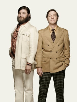 Jay R. Ferguson as Stan Rizzo and Kevin Rahm as Ted Chaough - Mad Men series 7