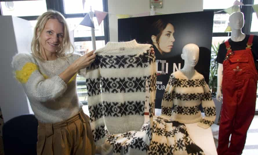 Gudron Rogvadottir of knitwear label Gudrun & Gudrun.