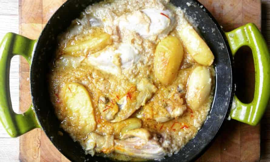 Yasmeen Murshed's chicken korma