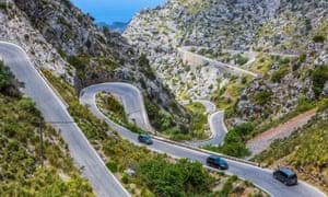 Serra de Tramuntana's winding roads
