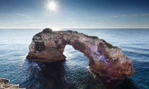 Es Pontas, Mallorca, popular spot for rock climbing