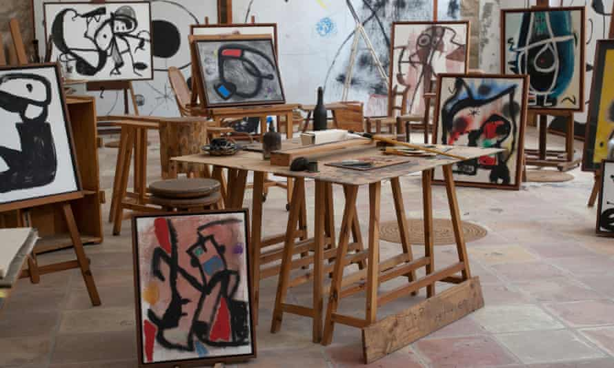 Joan Miró's studio, just outside Palma