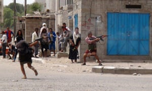 Clashes in the northern Dar Saad neighbourhood of Aden.