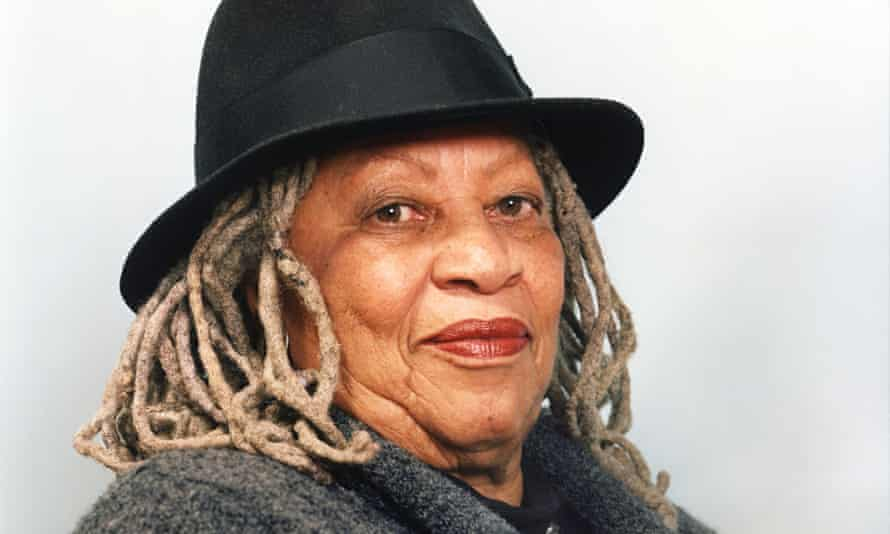 Toni Morrison photographed in New York.