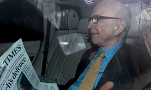 News Corporation Chief Rupert Murdoch re