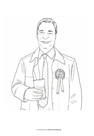 The general election colouring-in book