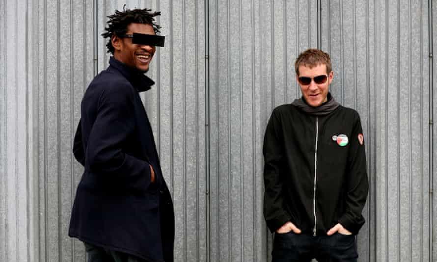 Massive Attack: Grant Marshall and Robert Del Naja.