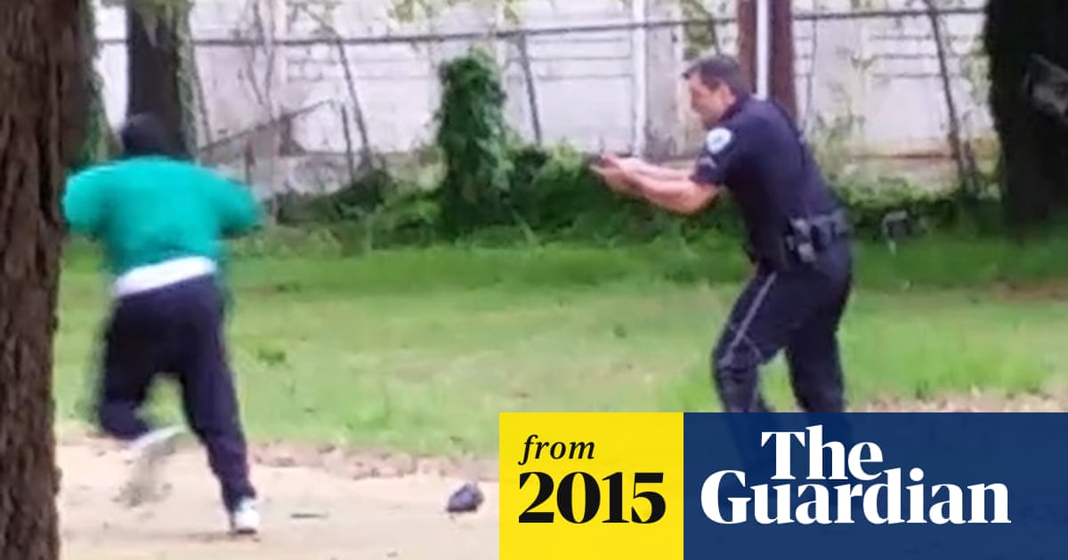 Michael Slager radioed in Taser claim six seconds after firing at