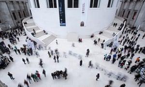 Visitors to the British Museum