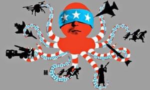 Joe Magee Illustration on Saudi-led action in Yemen