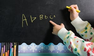 Children from disadvantaged backgrounds can fall behind their peers in vocabulary by the time they reach primary school.