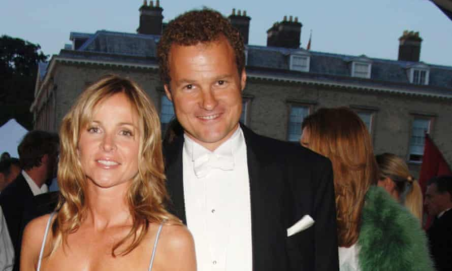 Viscount Rothermere, pictured with his wife Claudia, inherited his French nationality along with the Daily Mail newspaper from his father.