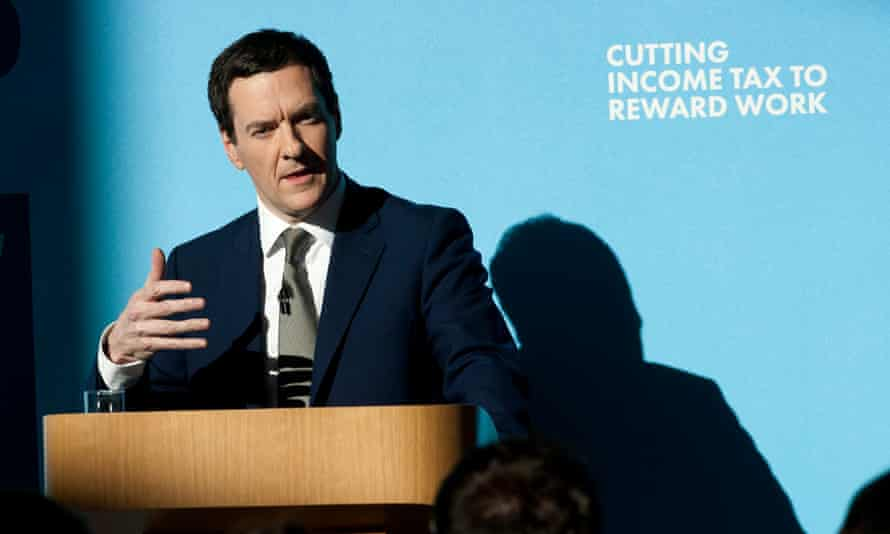 George Osborne's speech took him into the shadowy valley of assumption, opinion and probability. The Tory faithful loved it.