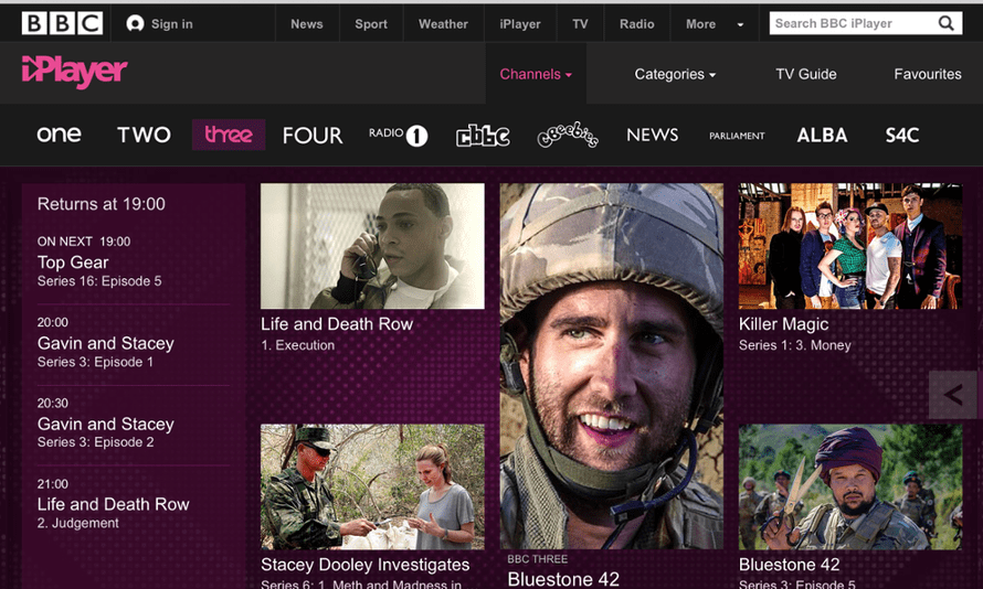 The BBC plans to take BBC3 online-only
